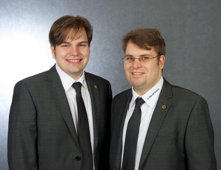 Sascha und Enrico Wendt, Geschäftsführer