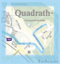 Stadtplan Ausschnitt